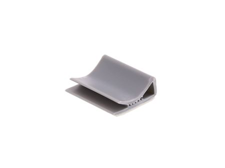 Picture of 28 mm Gray Flat Cable Clamp - 100 Pack