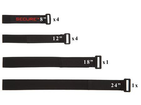 variety of cinch straps