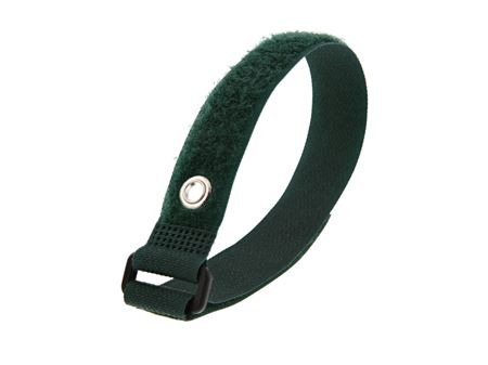 Picture of 12 Inch Green Cinch Strap with Eyelet - 5 Pack