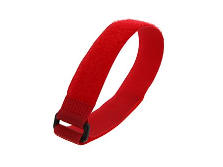 Picture of 12 Inch Red Cinch Strap - 5 Pack