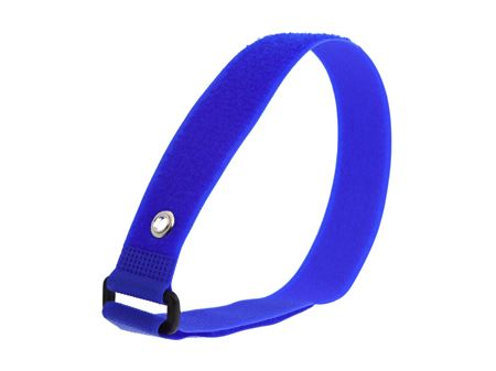 Picture of 18 x 1 Inch Blue Cinch Strap with Eyelet - 5 Pack