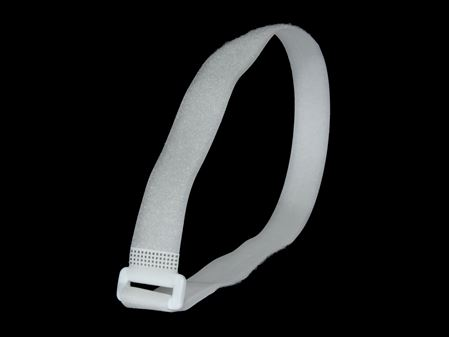 Picture of 30 x 1 Inch White Cinch Straps - 5 Pack