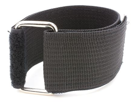 black heavy duty 24 x 2 inch cinch strap
