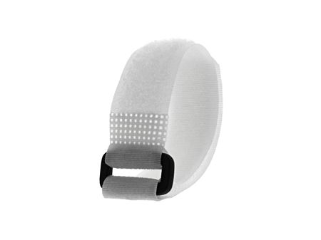 Picture of 8 Inch White Cinch Strap - 5 Pack