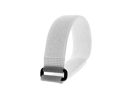 Picture of 12 x 1 Inch White Cinch Straps - 5 Pack