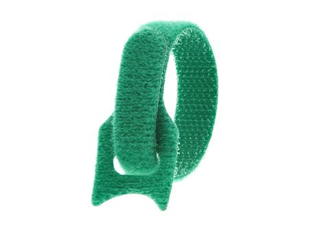 Picture of 6 Inch Green Hook and Loop Tie Wrap - 50 Pack