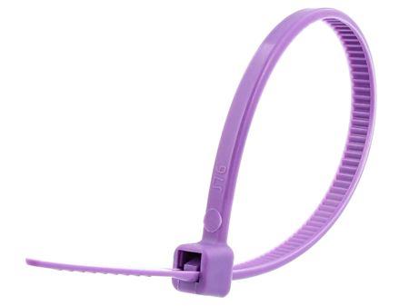 4 Inch Violet Miniature Cable Tie